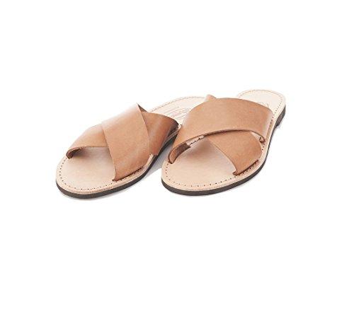 40 Miriana 1976 Sandalo Coloniale Erredibi In Cuoio Donna 8Ognq6R