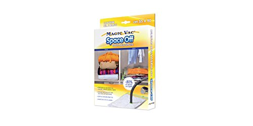 Magic Vac ACB0003 - Pack de 2 bolsas salva-espacio, 55 x 90 ...