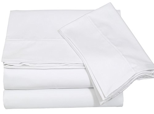 Premium Cotton Sheet Queen White