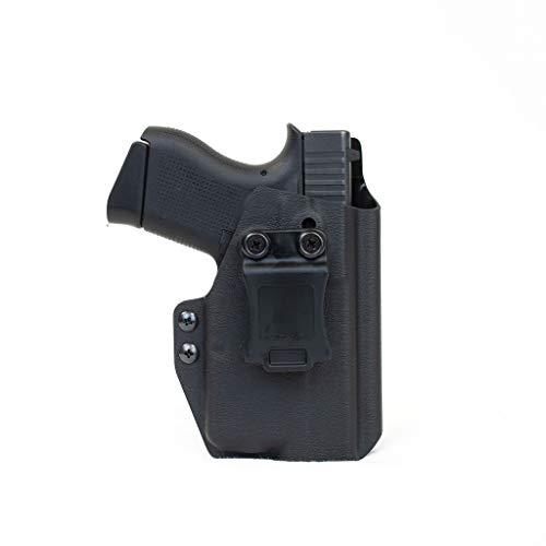 Priority 1 Holsters Inside The Waistband Holster fits Glock 43 with Streamlight TLR-6 - Kydex Right Handed