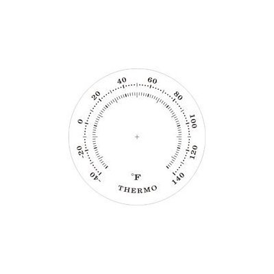 Ambient Weather WS-YG313-G Cherry Finish Brass Bezel Traditional Weather Station - Gold Dials