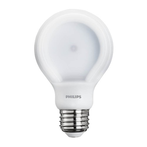 Philips 433276 10.5-watt Slim Style Dimmable A19 LED Light Bulb, Soft White, 10-pack
