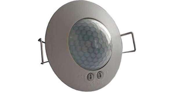 Dinuy DM.TEC.003 - Detector techo empotrar 1 canal 360 diámetro 6,6m: Amazon.es: Bricolaje y herramientas