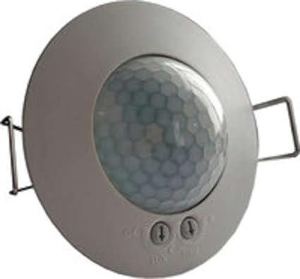 TEC.003 - Detector techo empotrar 1 canal 360 diámetro 6,