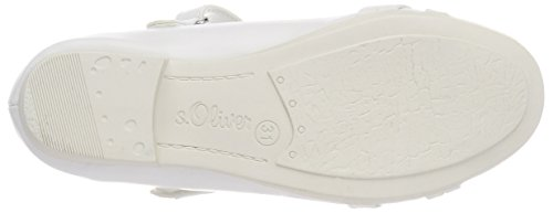 s.Oliver 42800, Mary Jane Para Niñas Blanco (White)