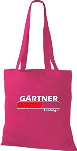 Jute Stoffbeutel Gärtner Loading viele Farben pink iUy8vCU