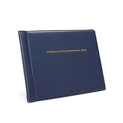 Photo Album 240 Coins Pockets Photo Album DIY Mini Coin Collection Book Money Penny Pocket Album Folder