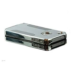 MOFY- Etiqueta de aluminio con caja de la PC del cromo para el iphone 4/4s
