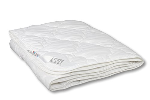 EUCALYPTUS 100% Organic Comforter with Eucalyptus Fiber, Lightweight, Quilted (Full XL/Twin 55''x81'') (Same Day Delivery Miami)