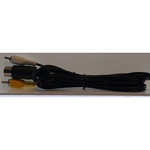 Sega Genesis 1 & Sega Master System AV Cable [6ft] (Cable Master Sega Av)
