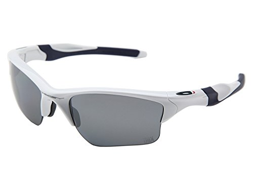 Oakley Men's 0OO9153 Rectangular Sunglasses, Slate Iridium Lens , Silver