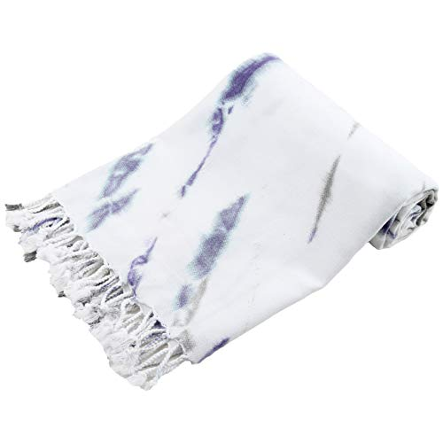Mystic Tie Dye Turkish Towel - Peshtemal Towel 39