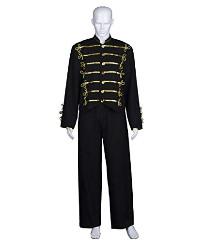 Adult Men's Costume for Cosplay Michael Jackson Military Jacket HC-471
