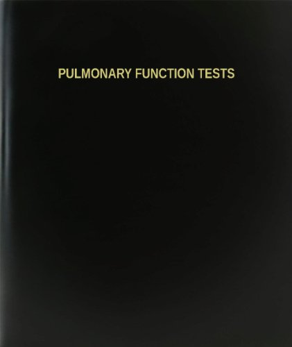Pulmonary Functions Test - BookFactory Pulmonary Function Tests Log Book / Journal / Logbook - 120 Page, 8.5