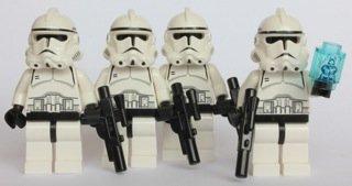 LEGO Star Wars Clone Trooper Army of 4