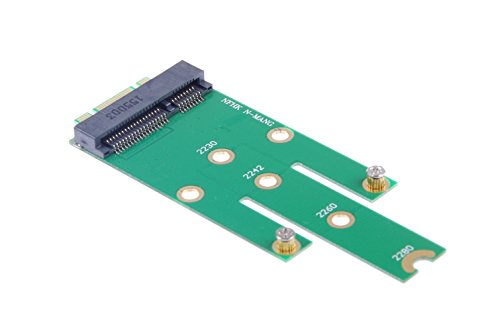 - KNACRO Mini pcie mSATA SSD to M.2 NGFF SSD adapter card
