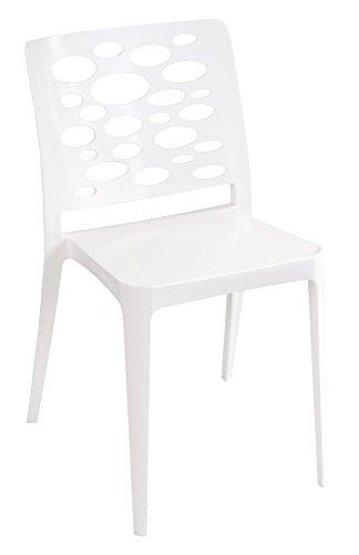 Tensai Venus Chair in White - Set of 4 (Bar Adjustable Venus Stool)