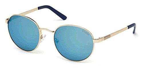 Specchiato 54 adulto oro 32x Montature blu Guess Unisex 54 Gu7363 0 RwU718