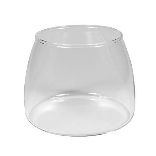 round Glass Jar Carafe fits KitchenAid Burr Grinder replaces 4176728 KPCGRND ()
