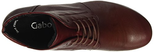 Gabor Shoes Gabor Basic, Botines para Mujer Rojo (dark-red 55)