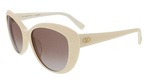 Valentino 617S-103-56 Women's Cat Eye Ivory - Valentino Cat The