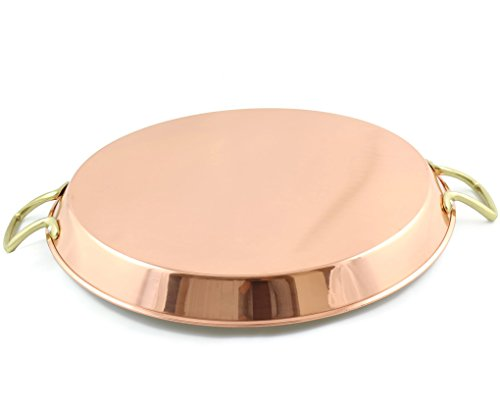 Copper spanish paella pan 15'' Inch by Copperino (Image #1)