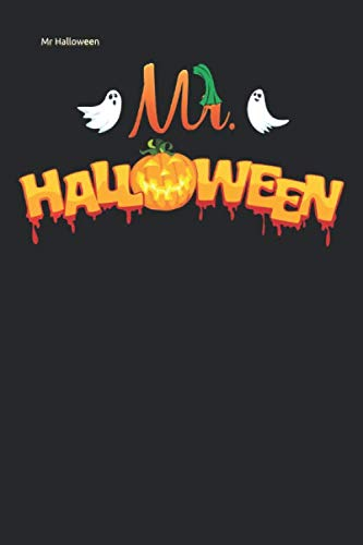Mr Halloween: Lined Notebook / Diary / Journal To Write In 6