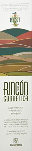 Rincon De La Subbetica biologische olijfolie AOC – winnaar van het wereldkampioenschap 2012, 2015, 2016 WBOO – 500 ml