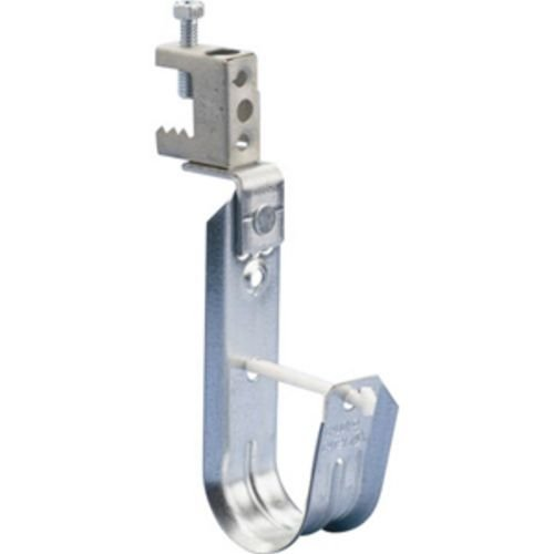 CADDY CABLECAT J-Hook with BC Beam Clamp, Steel, 3/4'' Dia, 1/8''–1/2'' Flange (Pack of 40) by Caddy (Image #1)