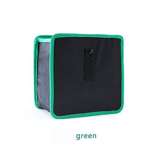 DeemoShop Foldable Wastebasket Trash Bin Rubbish Container Car Garbage Bin Bag Hanging Storage Bags
