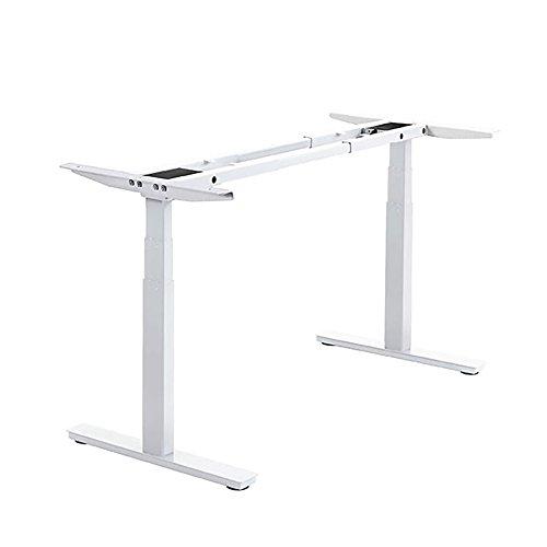 (Autonomous SmartDesk - Height-Adjustable Standing Desk - Dual Motor - White)