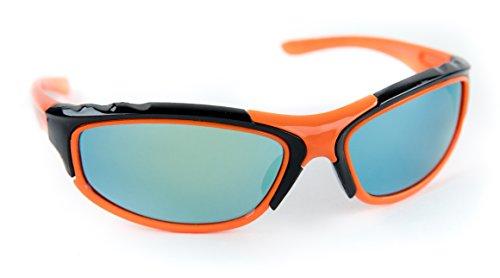 Children's Sports Wrap Ski Sunglasses Junior Kids Teens 100% UV - Childrens Ski Sunglasses