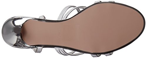 Ups Silver Emery Touch Heeled Women's Sandal BxqWUdgn