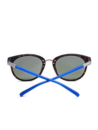 Guess - Lunette de soleil - Femme marron matt havana - blau Medium