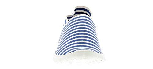 3 Stripe Stripe Blue UK Blue Sizes Faith Womens Flats 8 Wynsors wnqxWAHUq