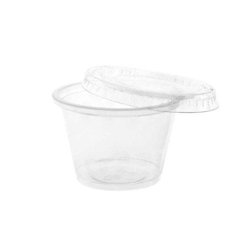 Party Essentials Hard Plastic 2.5-Ounce Gelatin/Shot Glasses