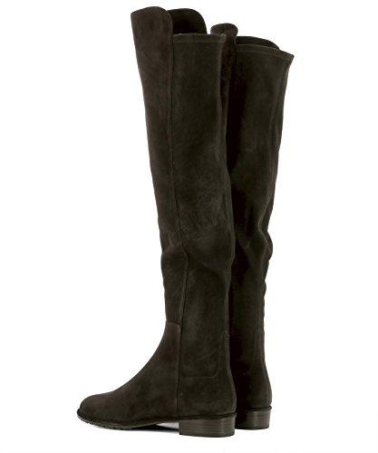 Stuart Weitzman Women's ALLGOODSUEDECOLA Brown Suede Boots discount excellent low shipping fee discount wholesale discount geniue stockist latest kGTHQWuc
