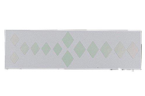 I Frets Inlay Decal Sticker White ()