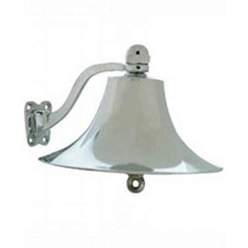 Ships Bell Chrome/Brass by Whitecap