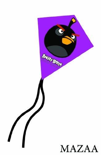 - Angry Birds Black Bird Mini Poly Diamond Kite 7.5