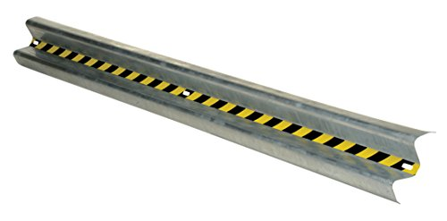 (Vestil GR-12 Galvanized Straight Guard Rail, 144