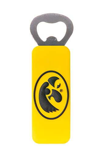 (IOWA HAWKEYES NCAA PVC BOTTLE OPENER)