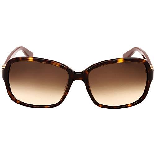 Ferragamo Salvatore Tortoise Plastic Frame Brown Lens Ladies Sunglasses ()