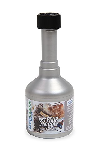 Cataclean 120008CAT Cataclean Fuel And Exhaust System Cleaner For Motorcycle/UTV/ATV/Watercraft Applications 4 oz. Cataclean Fuel And Exhaust System Cleaner