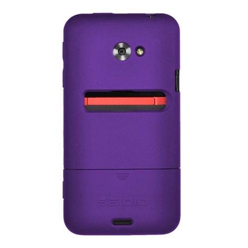 - Seidio CSR3HTJET-PR SURFACE Case for HTC EVO 4G LTE - 1 Pack - Retail Packaging - Amethyst