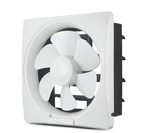 BeTyd Desk Fan, Exhaust Fan for Kitchen/Toilet/Bathroom/Industrial/Window Exhaust Fan White/Gold, Silent Energy Saving Energy Saving Fan, 8 Inch White 29.3x29.3cm (Color : White)