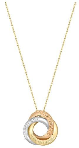 Carissima Gold - Collier (375) - Or tri colore - Femme - 46 centimeters