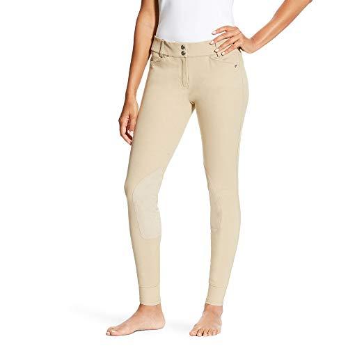 ARIAT Women's Heritage Knee Patch Breech Tan Size 34 ()