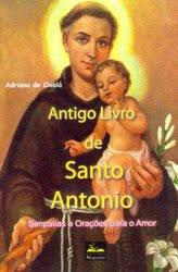 antigo livro de santo antonio
