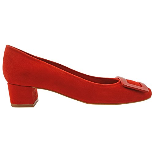 Paris Court Women's Exclusif Pink Shoes Red OP0Pq